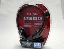 Labtec 242 Stereo PC Headset Mikrofon Skype Voice-Chat NEU DHL VERSAND
