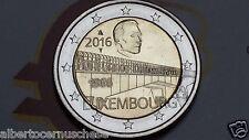 2 euro 2016 Lussemburgo Luxembourg Luxemburg Luxemburgo 50 1966 ponte Charlotte