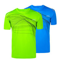Mens Athletic Quick Dry Sport T Shirt Short Sleeve Designer Summer Tee Tops