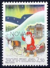 1999 FINLANDIA -  NATALE  CONGIUNTA ITALIA   SINGOLO NUOVO **