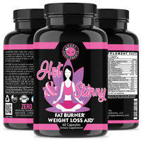 Women Weight Loss Hot and Skinny Thermogenic Fat Burner Supplements 60 Pills