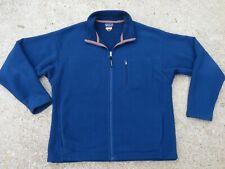Vintage Patagonia Synchilla Size XL Men Jacket Deep Pile Insulation Rare Blue