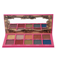 10Colors Smoky Star Eyeshadow Palette Shimmer & Matte Makeup Eye Shadow Cosmetic