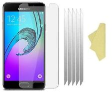 3 X Clear Plastic Screen Guard LCD Protector For Samsung Galaxy A3 2016 (A310)