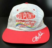 Vintage 90s Jeff Gordon Refinish Denim Chambray Dupont Chevy Snapback Hat NASCAR