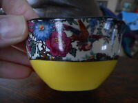 British Anchor England Tiny Small Bowl Bird Birds Yellow 1 Bowl China Collect