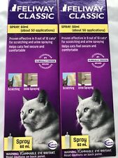 Feliway Spray 120ml Cat Feline Stress Behavior Relief Urine Spraying Scratching.