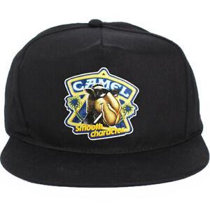 Vintage Camel Cigarettes hat cap snapback 5 panel lucky stripe 90s Era NEW