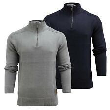 Mens Jumper Brave Soul 'Mazii' Zip Up 3/4 Sweater Casual Cotton Cardigan S-XL