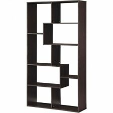 Bookcase 8 Shelf Mainstays+colors Contemp Safety Secure Provided to Shelf Wall