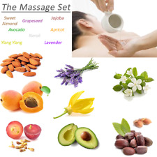 Massage Set Almond Grapeseed Jojoba Avocado Apricot Neroli Ylang Ylang Lavender