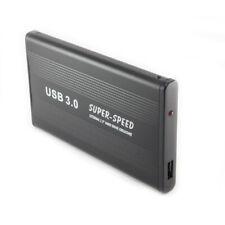 US USB 3.0 2.0 2.5 Inch SATA Hard Drive Enclosure External Case HDD Disk Box BK