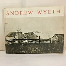 Andrew Wyeth Dry Brush and Pencil Drawings 1963 Hardcover Book w Dust jacket