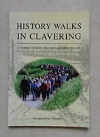 History Walks in Clavering: A Journey in Time... by Cooper, Jacqueline Paperback