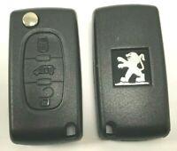 Coque Boitier CLE PLIP télécommande Peugeot Partner*EXPERT: CE0536 * 3 Boutons