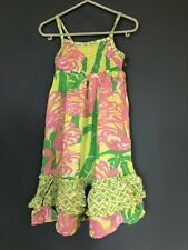 LILLY PULITZER for TARGET BABY GIRLS DRESS 2T PINK AND GREEN