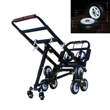 Foldable Stair Climbing Hand Truck 420LBS Capacity Handcart Luggage Cart New