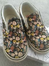 Limited Edition Vans Peanut Snoopy Edition Size 9 Toddler