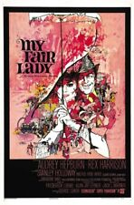 My Fair Lady (1964) Audrey Hepburn Rex Harrison movie poster 24x36 inches