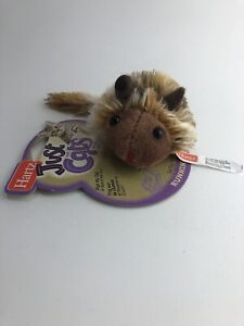 Hartz Just for Cats Toy Pull my Tail Running Rodent Brown