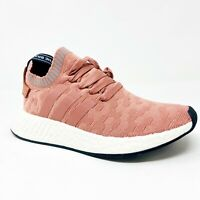 Adidas NMD R2 Primeknit Raw Pink Grey BY8782 Womens Sneakers Size 6.5