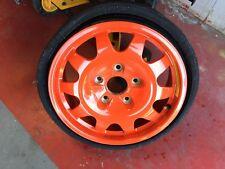 "Porsche 996 TURBO Orange Spare Wheel and Tire 16"" 5.5x15 ET10 99636215000"