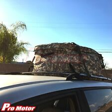 Military Waterproof Roof Top Cargo Carrier Bag Travel Luggage Storage Camo Army