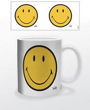 SMILEY CLASSIC 11 OZ COFFEE MUG TEA CUP DECOR POP HAPPY FACE EMOTICON SWEET JOY!