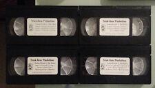 TORAH TOONS I : THE VIDEO tape # 1 2 3 4   VHS VIDEOTAPE LOT