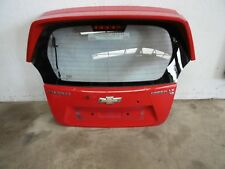 2010 Chevrolet Spark 5dr 1.2 Rear Tailgate Hatch Bootlid (RED)