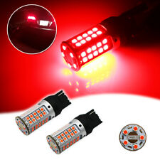 2x Error Free Brilliant Red 7440 T20 3030 LED Bulbs Fit Turn Signal Lamp Lights