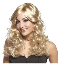 Synthetic Role play Reenactment or Crossdresser Costume Long Blonde Wig