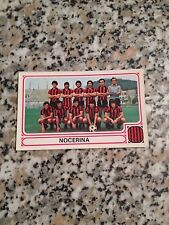 NOCERINA N. 393 album CALCIATORI PANINI 1978 1979 NUOVA CON VELINA DA BUSTINA