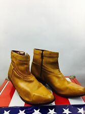 Vintage Women's Ankle Boots Mario Day Gerard Brown Boho Rocker The Beatles 80s
