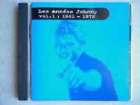 Johnny Hallyday cd album promo Les Années Johnny Vol.1: 1961-1972
