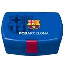 FC BARCELONA Kids Football Club Lunch Bags School Tray Box Nursery Case