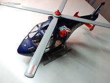 Playmobil 5178 Polizei Hubschrauber mit LED Suchscheinwerfer und Seilwinde