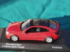 MERCEDES Benz Classe C Classe Sport Coupe EVOLUTION modello auto ufficiale