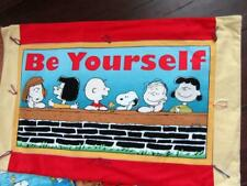 *Be Yourself* Peanuts Gang on Life Travel Baby Pillowcase Snoopy-Charlie Brown