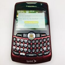 BlackBerry Curve 8330 - Red (Sprint) Smartphone (Used) See Details 1Gb Micro Sd