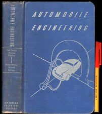 1949 754 page AUTOMOBILE ENGINEERING 1 Brakes CLUTCH Wheels ++