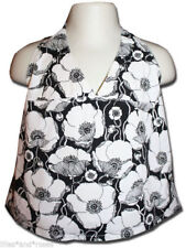 Rare FRED BARE Size 6 (FITS SIZE 4-5) POPPY Print Halterneck Top