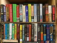 Lot of 20  Espionage Thriller Suspense  War Mystery PB Books RANDOM*MIX