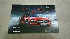 Mercedes SLS AMG Introduction Brochure Sep 2009