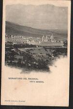 ANTIGUA POSTAL MONASTERIO DE EL ESCORIAL . MADRID . MIRA MAS EN MI TIENDA CC1589