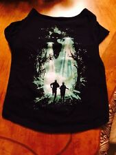X-Files Pet Dog Cat T-Shirt (LARGE, L) Costume Clothing Loot Pets Crate Exclusiv