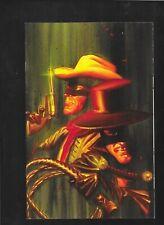 Lone Ranger Death of Zorro 1 2011 Alex Ross Virgin Art Variant vf