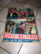 Il pescatore di Posillipo,Piscatore 'e Pusilleco SOGGETTONE TOSO RONDINELLA 1955