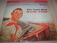 HANK SNOW THE LAST RIDE LP EX RCA Camden CAS782 1963