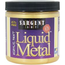 Liquid Metal Acrylic Paint 8oz-gold